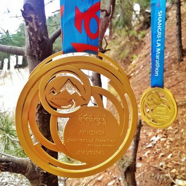2015 Finisher Medals