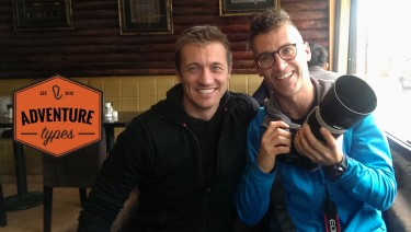 Chris and Simon of Adventure Types